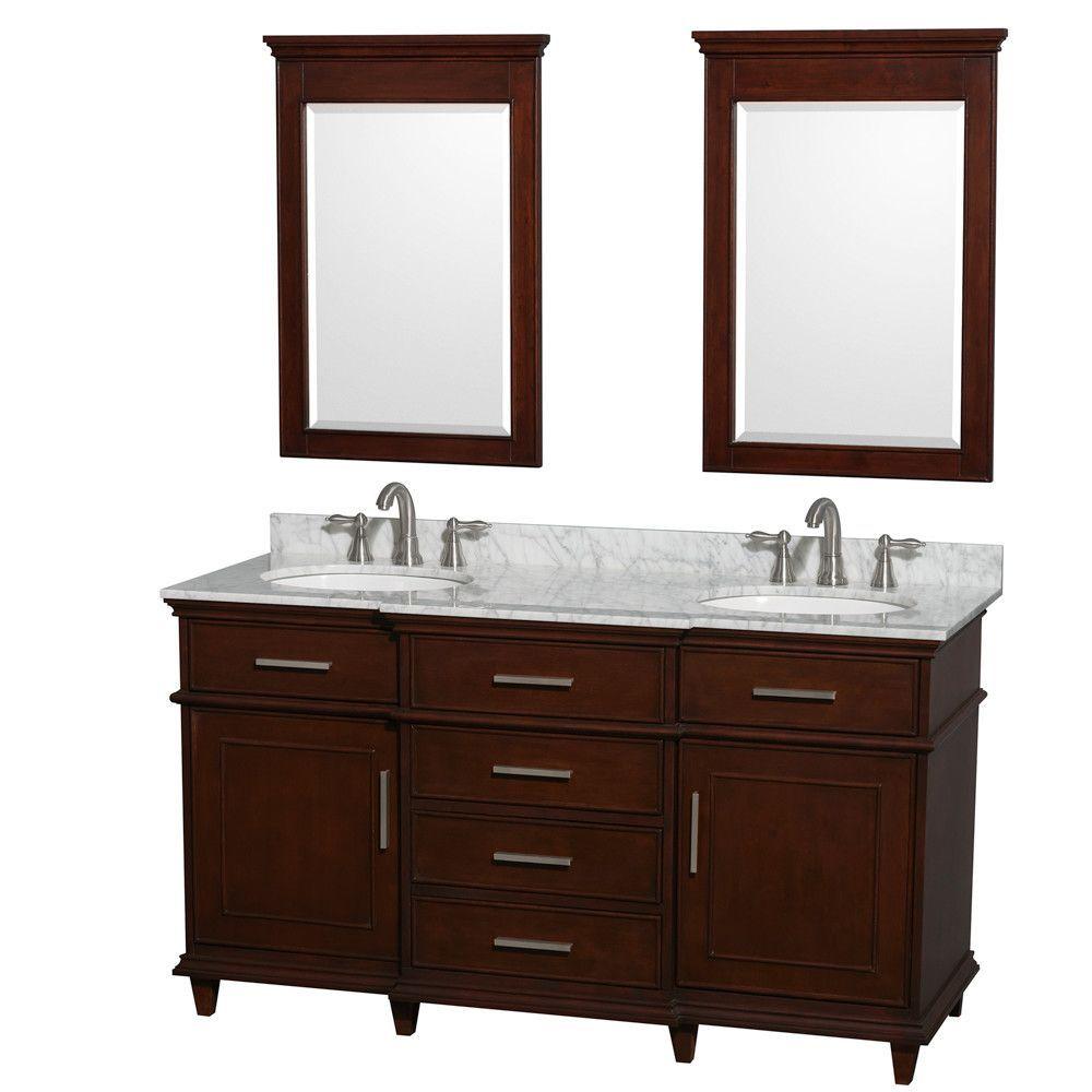 Berkeley Double Vanity Set Double Vanity Bathroom Double Sink