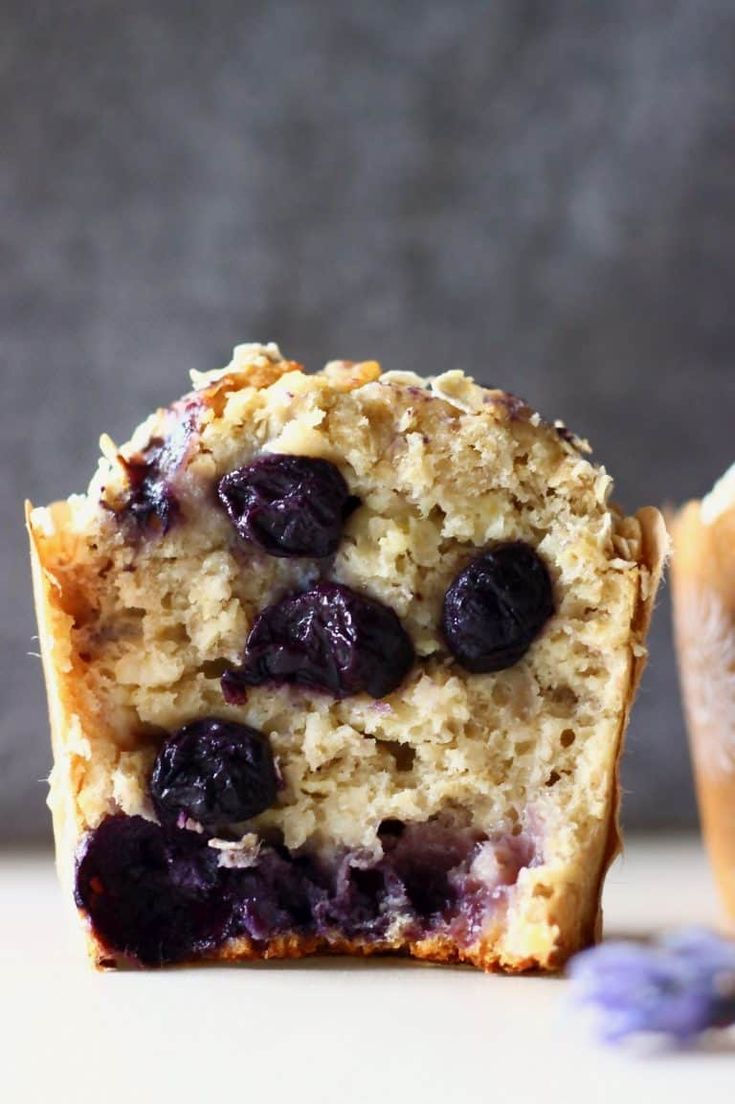 These Gluten-Free Vegan Blueberry Oatmeal Muffins are moist ...- These Gluten-Free Vegan Blueberry Oatmeal Muffins are moist and fluffy, slightly…  These Gluten-Free Vegan Blueberry Oatmeal Muffins are moist and fluffy, slightly chewy and filled with jammy blueberries! They make a great healthier breakfast, dessert or snack! Dairy-free, egg-free and refined sugar free.  -#glutenfreefoodsaldi