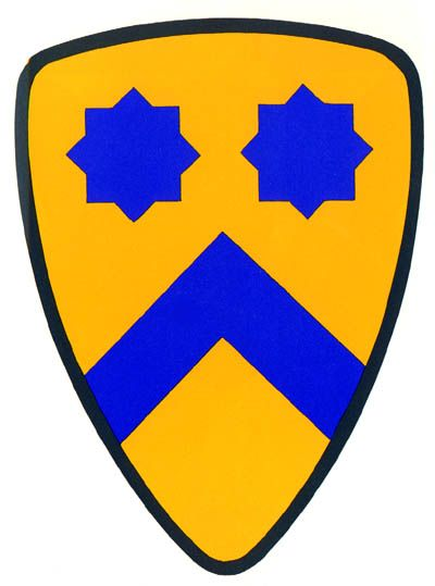 Shoulder Sleeve Insignia: 2d Cavalry Division