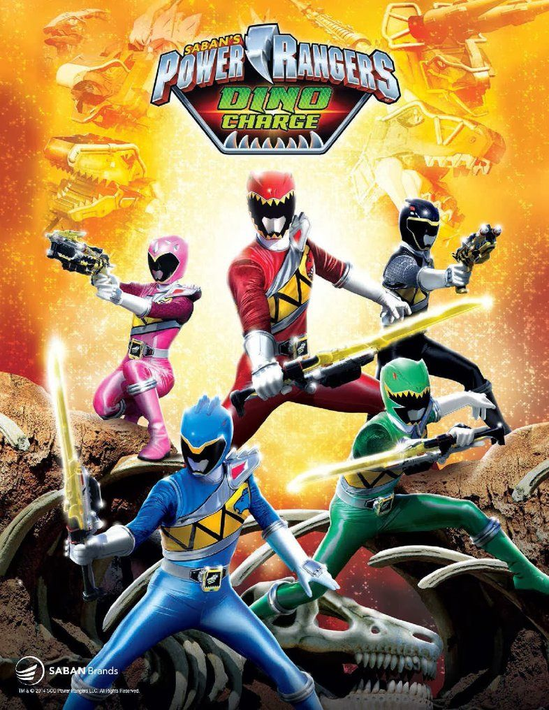 Power Rangers DINO CHARGE Poster by XMarcoXfansubs | moni | Pinterest