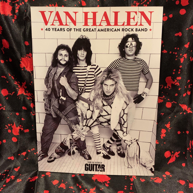 Van Halen 2012 Softcover Book Eddie Van Halen David Lee Roth Sammy Hagar Michael Anthony Alex Van Halen Gene Simmons M In 2020 Van Halen Eddie Van Halen David Lee Roth