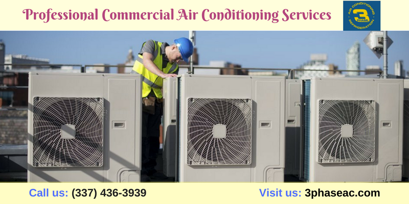 We also provide commercial and residential air