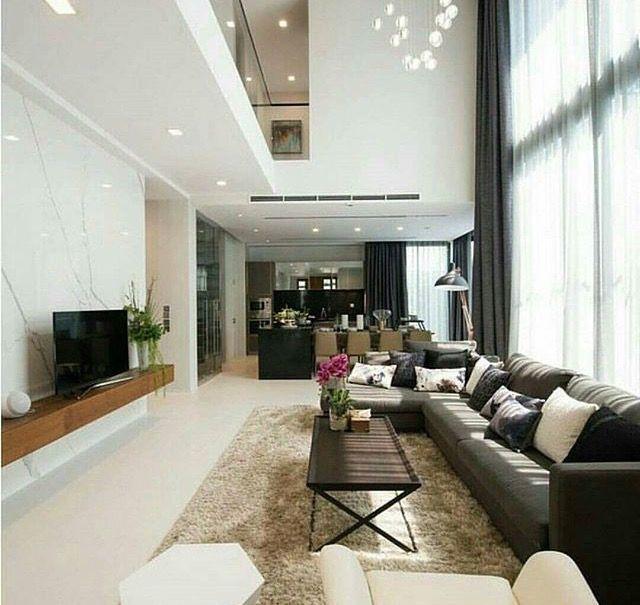 Pin by khawla ali on my home Pinterest Living room ideas, Living - hi tech loft wohnung loft dethier architecture