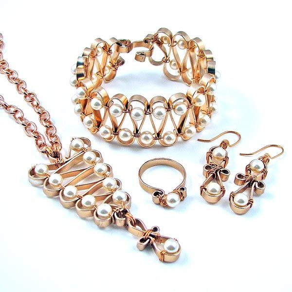 flat aluminum wire jewelry projects Google Search chain maille
