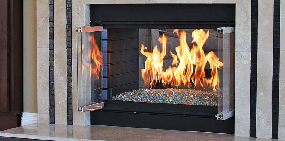 How To Install An H Burner And Fire Glass In Your Fireplace Fire