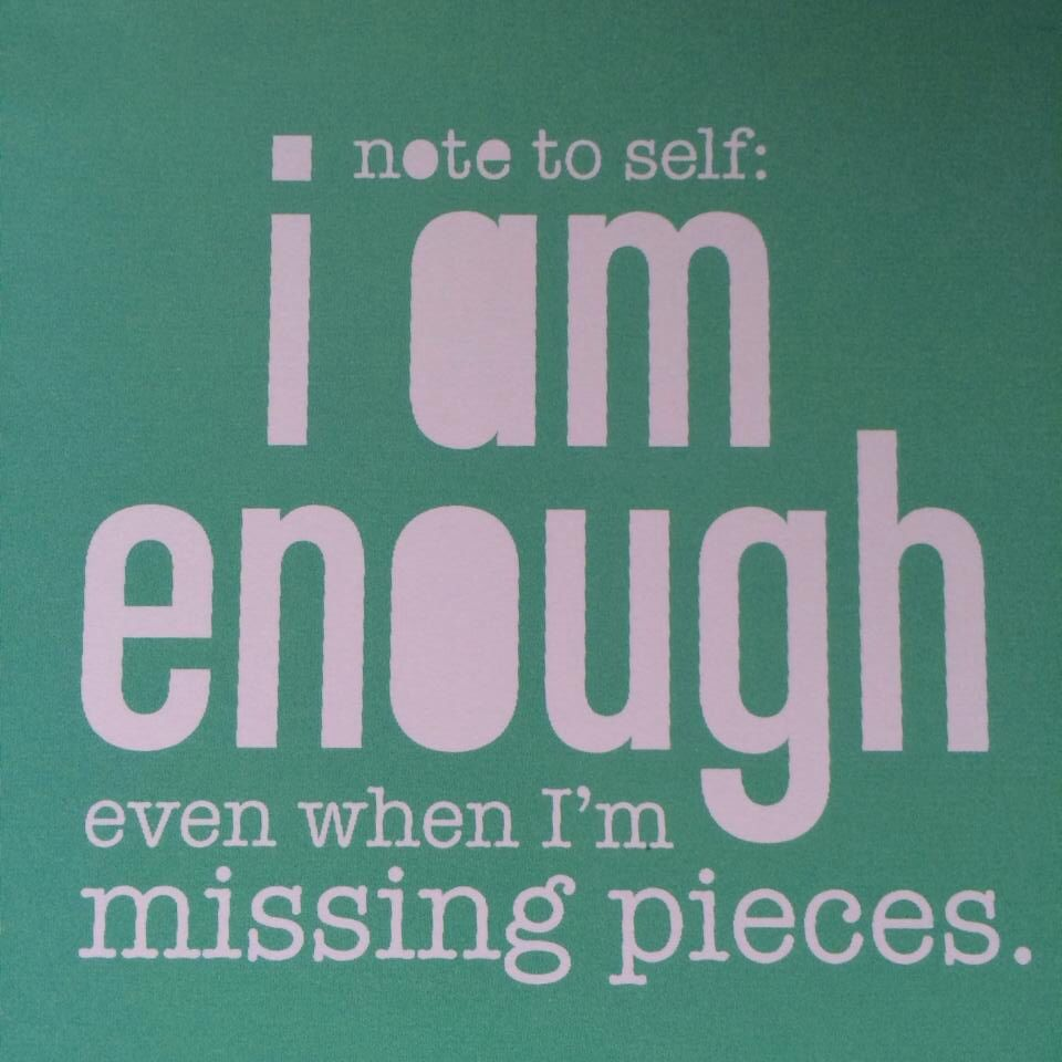 I am enough... <3  .... let WORLD PEACE  begin within me ....