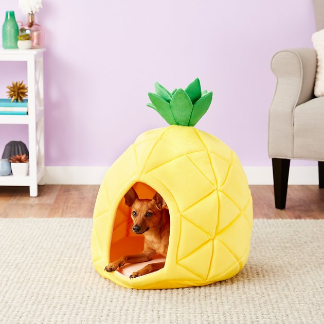 Buy YML Pineapple Dog & Cat Bed House, Medium at