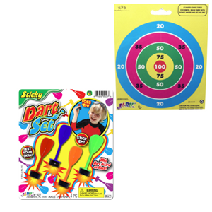 Sticky Dart Set. Unique office toys, supplies, and products at www.officeplayground.com use code P10 for 10% off