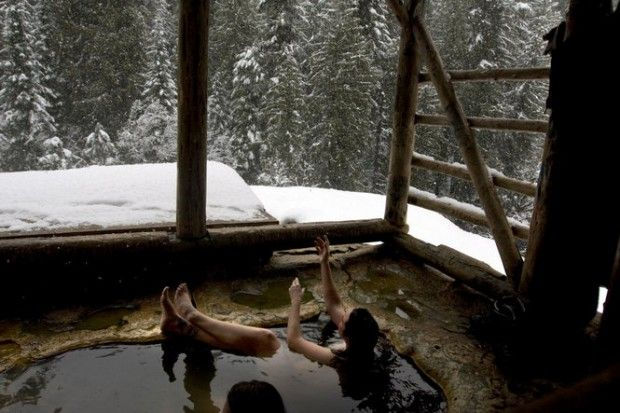 Oregon hot springs beckon with warm water to blunt winter's chill