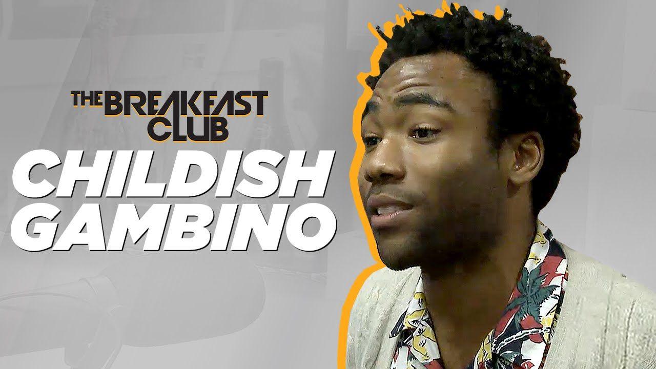 Childish Gambino Interview at The Breakfast Club Power 105.1
