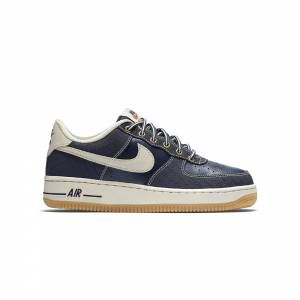 designer fashion ca4ec f7ee7 Sneakers enfants NIKE Air Force 1 Premium Bleu - Basket Bordeaux