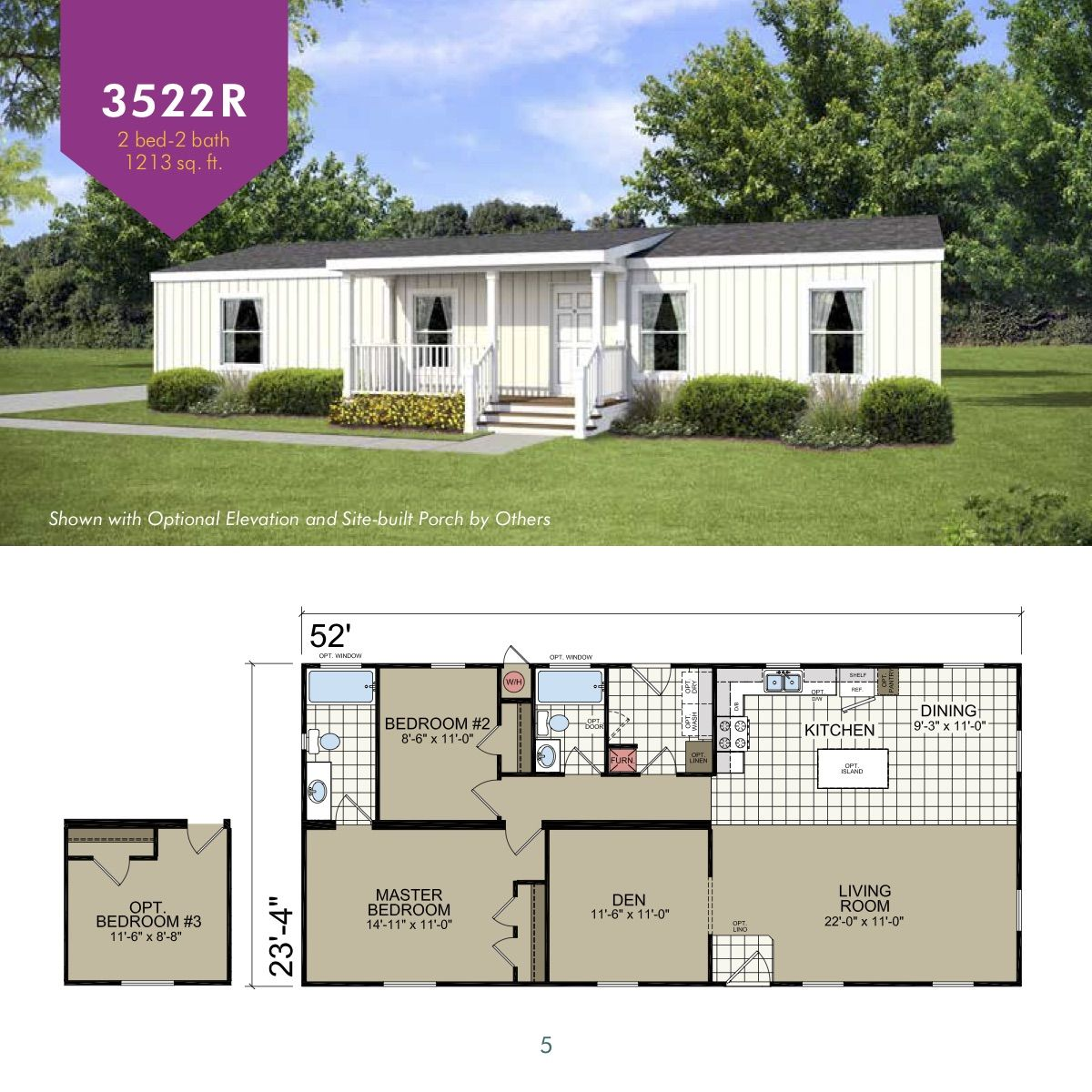 Le3522r Small House Design Home Design Floor Plans Mobile Home Floor Plans