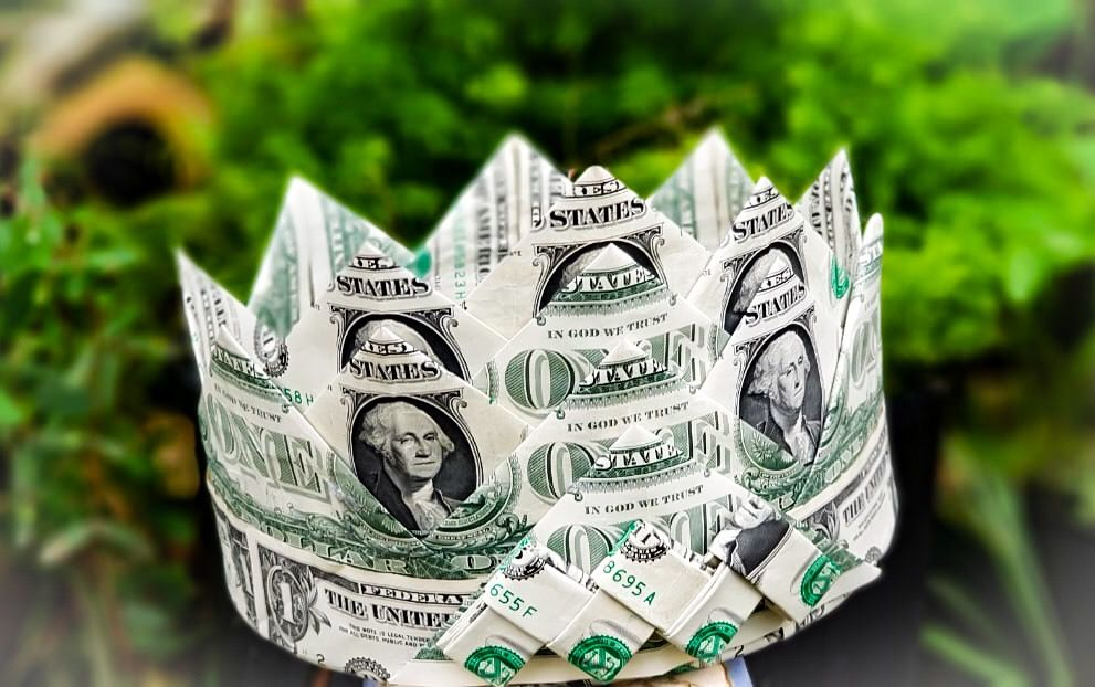 How To Make A Money Tiara