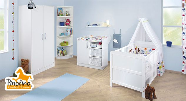 Komplett-Babyzimmer für Ihren Sprössling zum günstigen Preis - pinolino babyzimmer design