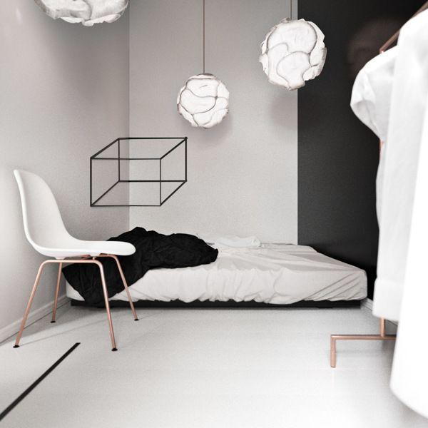 3D flat 'in Berlin' - via Coco Lapine Design