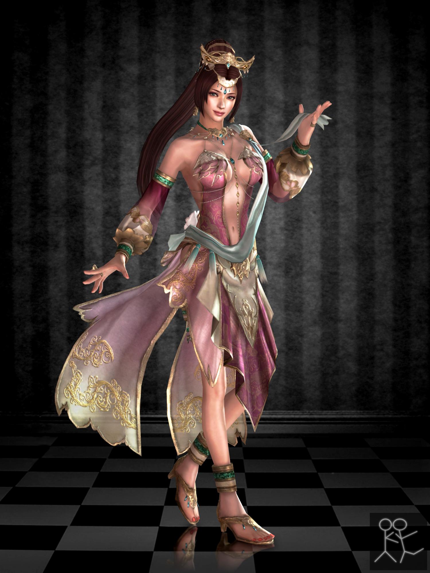 Dynasty Warriors 8 Diaochan By Sticklove On Deviantart Dynasty Warriors Dynasty Warriors Characters Female Elf