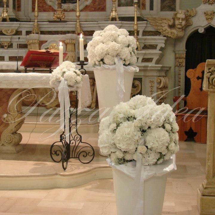Ortensie bianche total white wedding flower pinterest for Ortensie bianche
