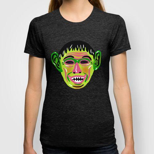GOBLIN MASK T-shirt by Alex DeSpain