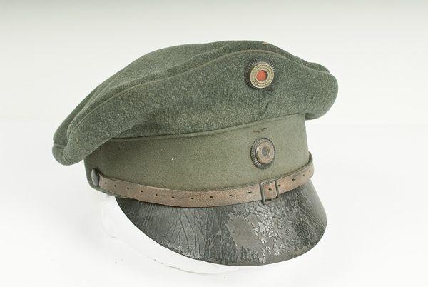 2a01a8eae46 German WWI Bavarian NCO Visor