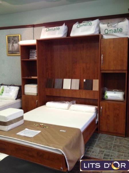 lit mural en mural pour mieux maximiser votre espace de vie tout en profitant du. Black Bedroom Furniture Sets. Home Design Ideas