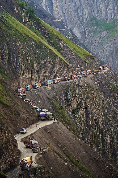 Zojila Pass Is One Of The Important High Mountain Passes In Jammu
