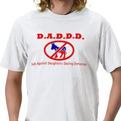Dads against daughters dating democrats t-shirt #5