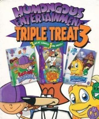 Humongous entertainment triple #treat 3 pc mac cd #backyard baseball #freddi game,  View more on the LINK: http://www.zeppy.io/product/gb/2/361388330506/