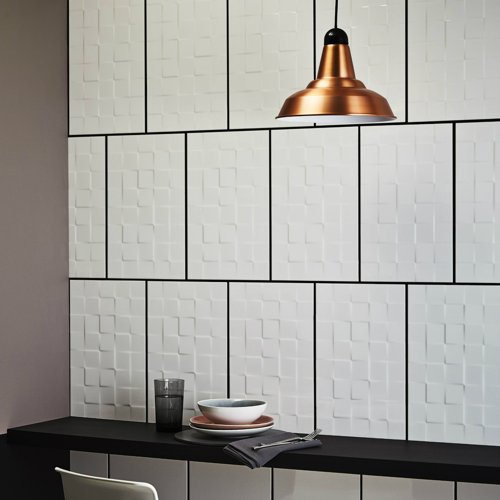 Alexandrina White Gloss Square Ceramic Wall Tile Sample Ceramic Wall Tiles Wall Tiles White Gloss