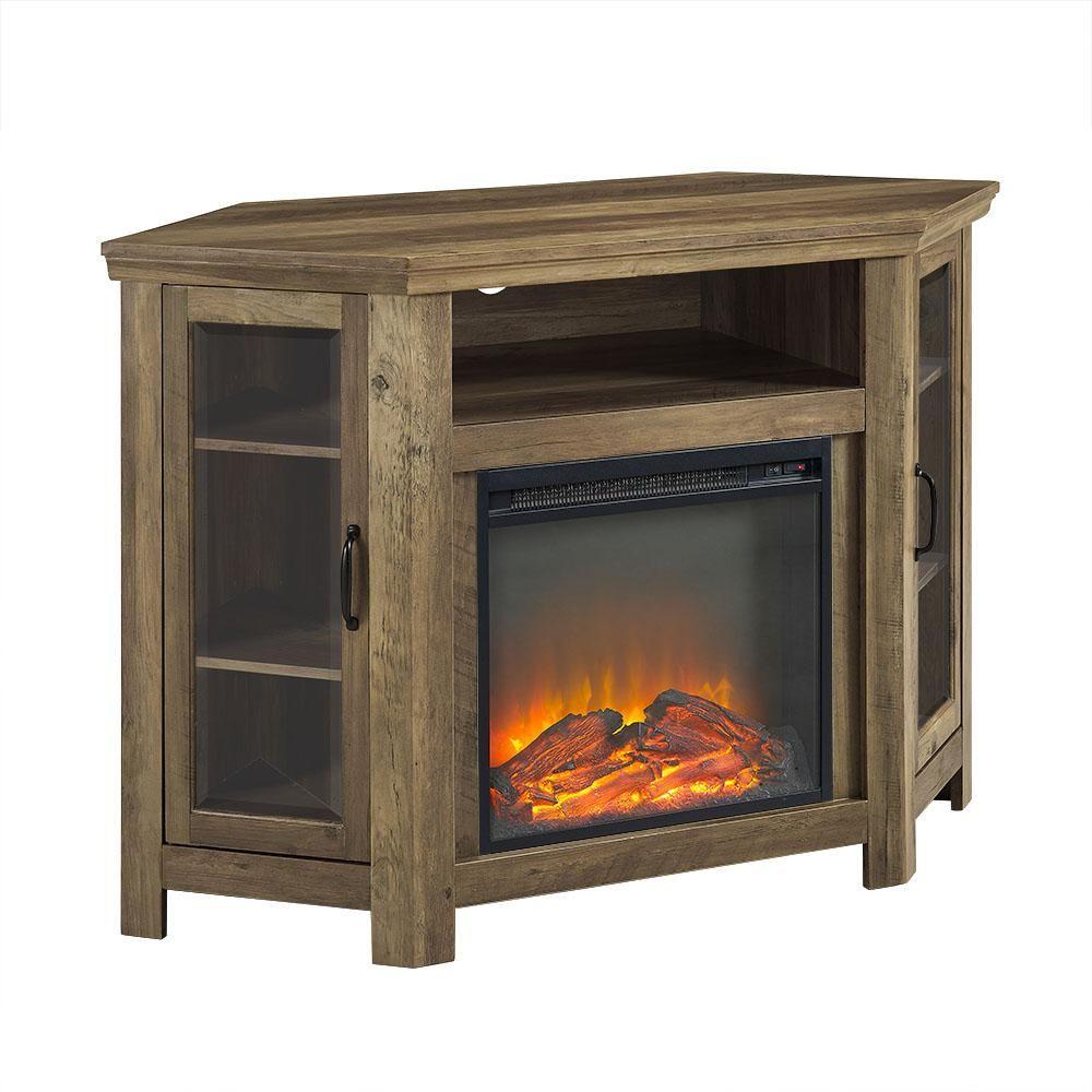 Walker Edison Furniture Company 52 In Rustic Oak Classic