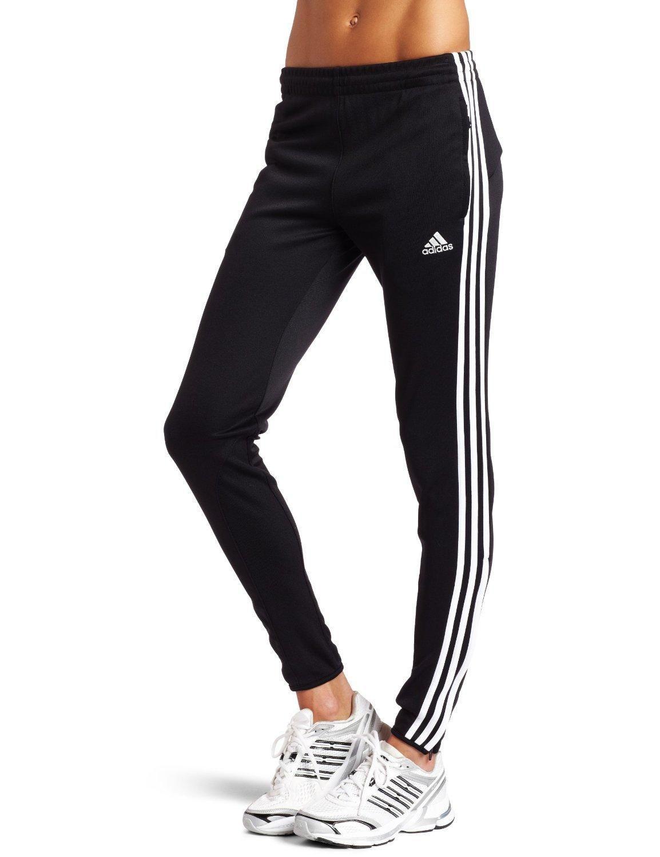 adidas Women's Tiro 11 Training Pant (Black, White, X ...