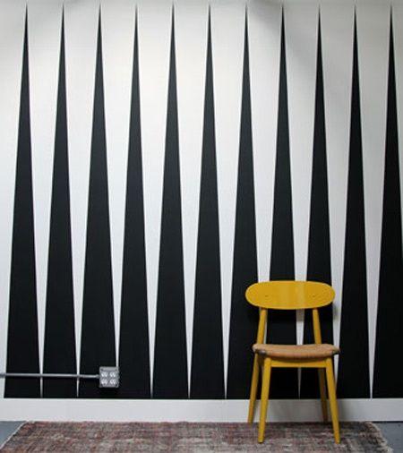 die besten 25 wandmuster ideen auf pinterest wand ideen betonte wandgestaltungen und. Black Bedroom Furniture Sets. Home Design Ideas