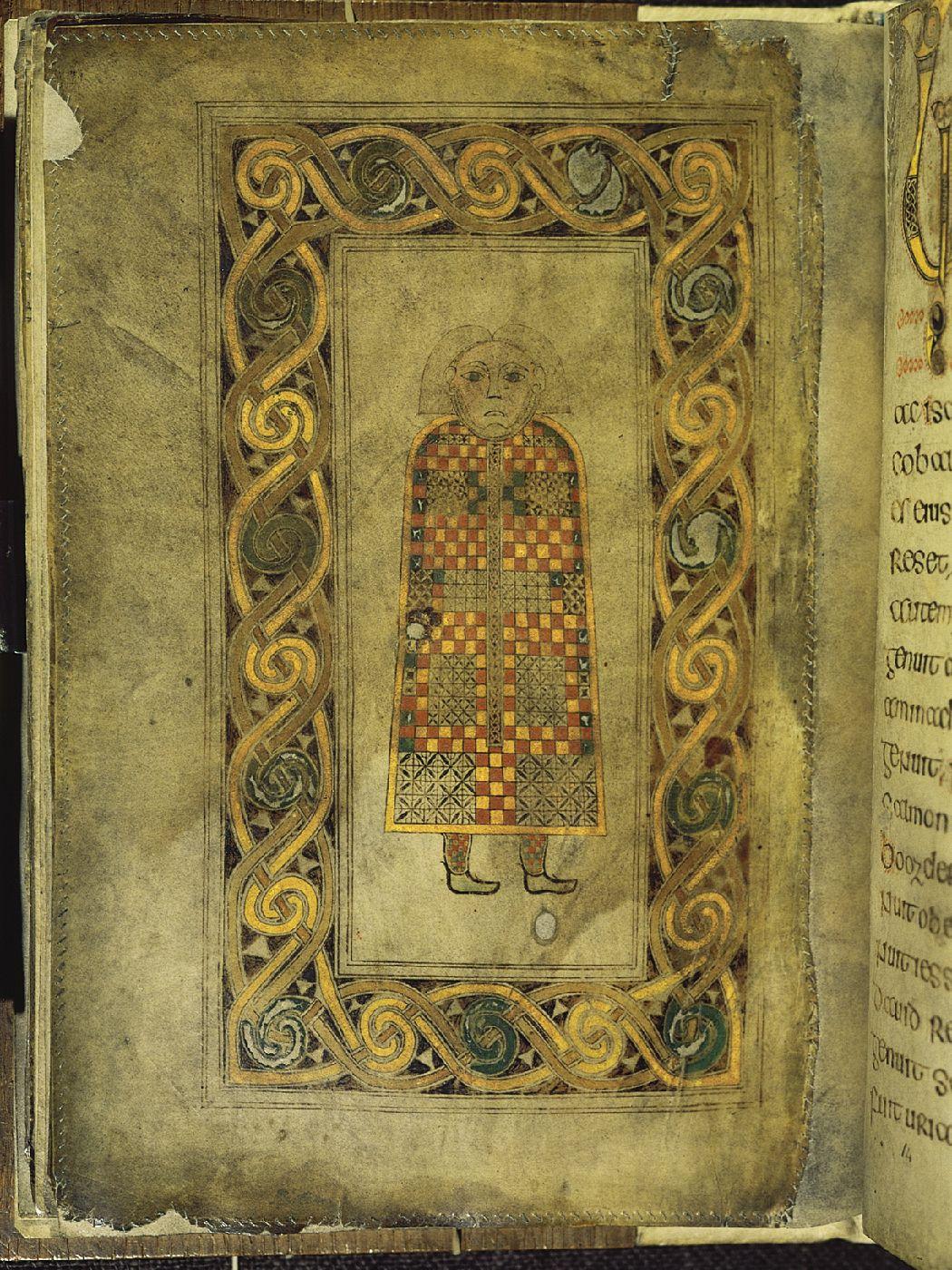 Man symbol of saint matthew folio 21 verso of the book of man symbol of saint matthew folio 21 verso of the book of durrow biocorpaavc