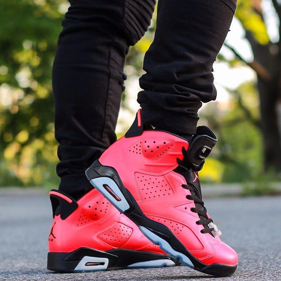 Air Jordan 6 Retro Infrared 23 Air Jordan Sneakers Air Jordans Jordans