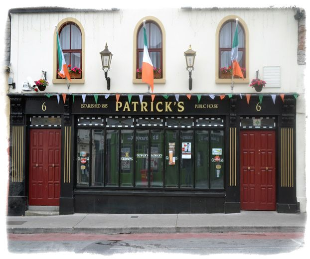 Patricks Ennis - Click pub photo image above to purchase your #Pubs of #Ireland Photo Print with PayPal. You do not need a PayPal account to purchase photo. Pubs of Ireland photos are perfect to display in any sitting room, family room, or den to celebrate a family's Irish heritage. $9.00 (plus $5 shipping & handling in USA)