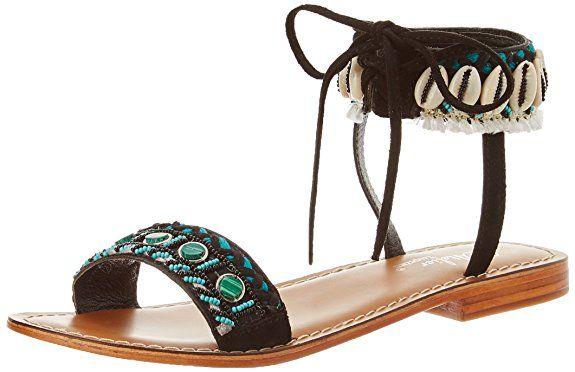 L'atelier Tropezien Mode FemmeAutre CoquillageSpartiates Sandale PuOZikX