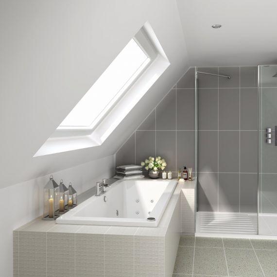 Tweezijdig Rechthoekig Premium Inbouw Whirlpool 170 x 75 cm 2 | Loft ...
