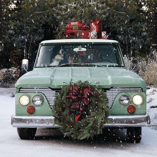 Winter Pine 30-in. Cordless Wreath