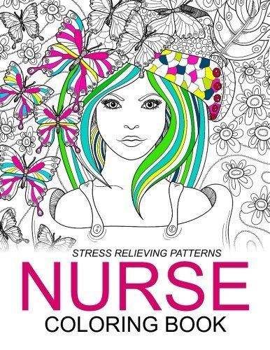 Nurse Coloring Books Humorous Coloring Books For GrownUps and Adults ...