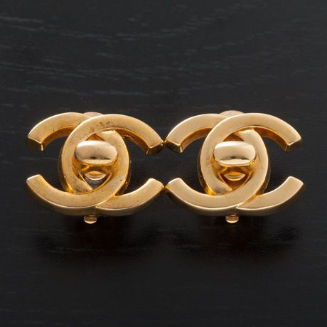 Chanel Earrings currently on sale at LXR & Co.