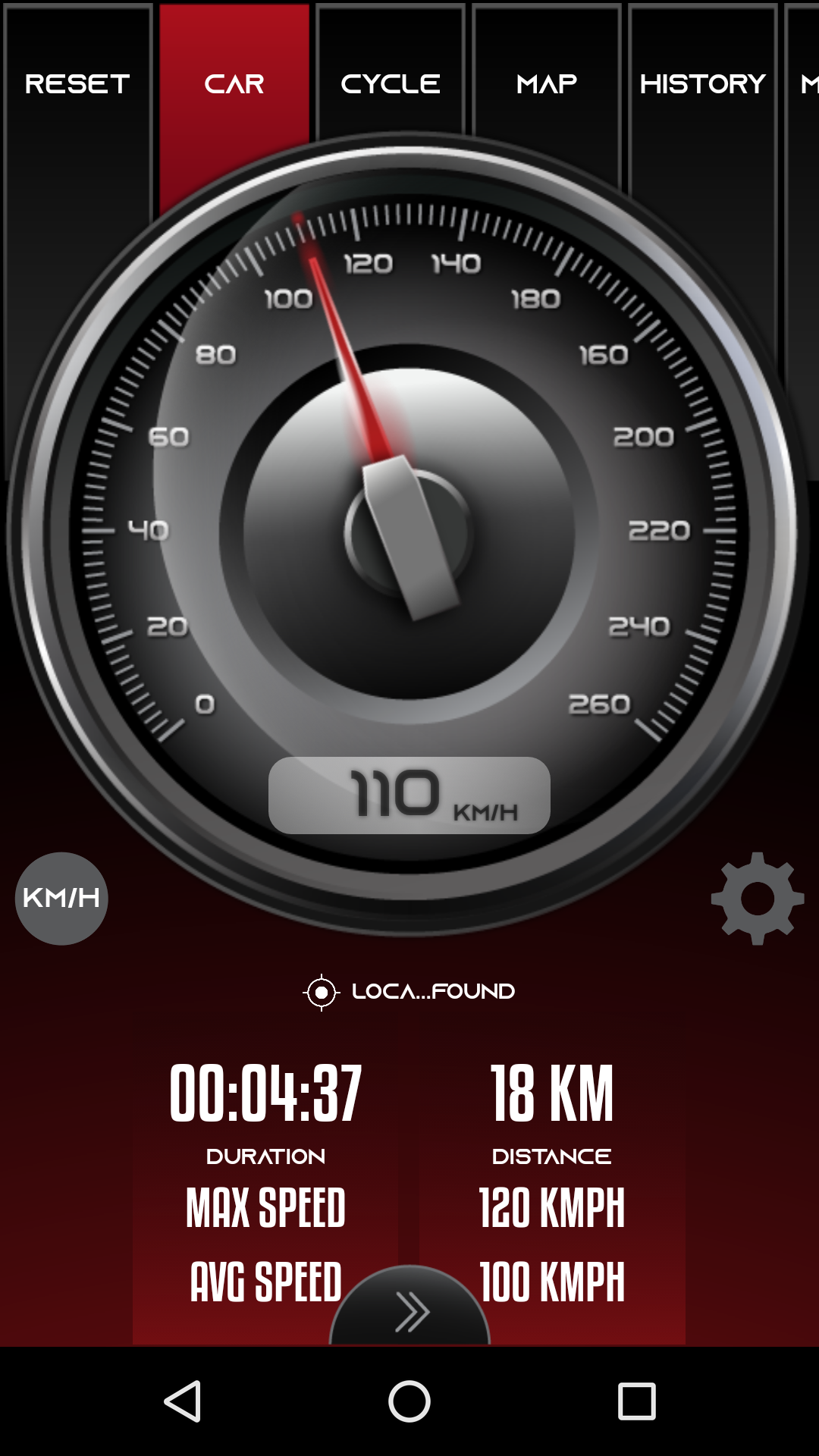 Digital GPS Speedometer Odometer Offline HUD View is best