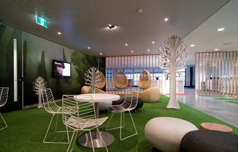 Modern Office Room Interior Design Background Images Free