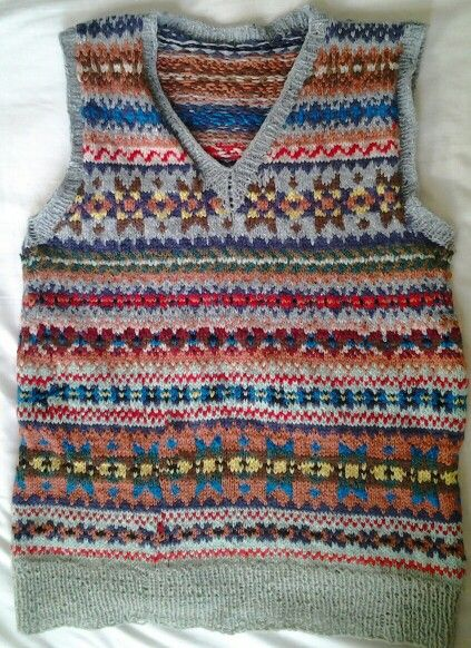 Annoushs fairisle pullover. Made November 2013 | Craft | Pinterest ...