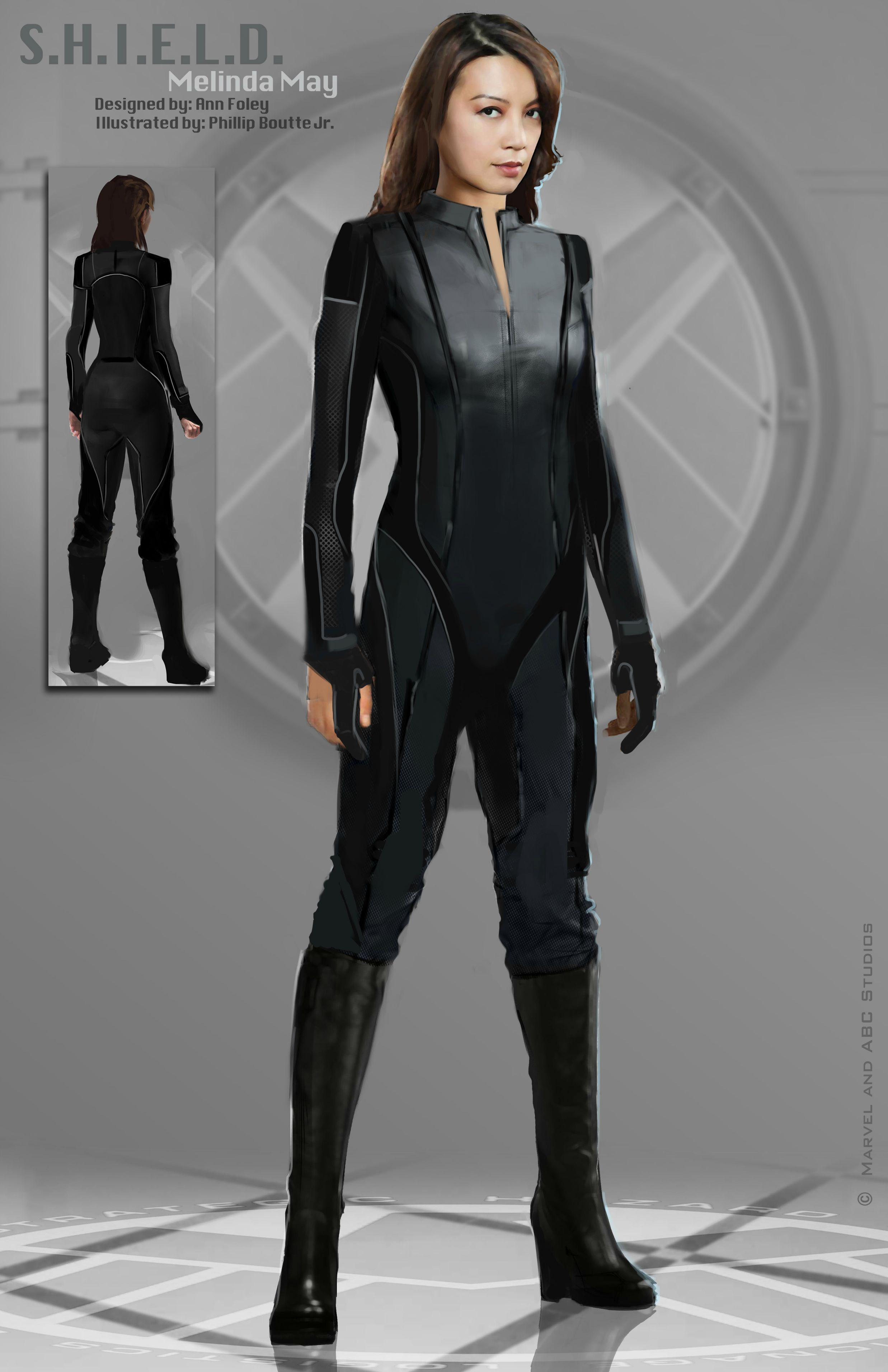 simmons agents of shield cosplay. costume illustrations by shield agent simmons agents of cosplay t