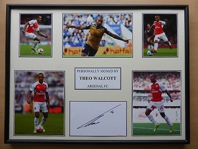 Theo walcott signed #arsenal #multi picture #display - new 2015-16 season,  View more on the LINK: 	http://www.zeppy.io/product/gb/2/331727016967/