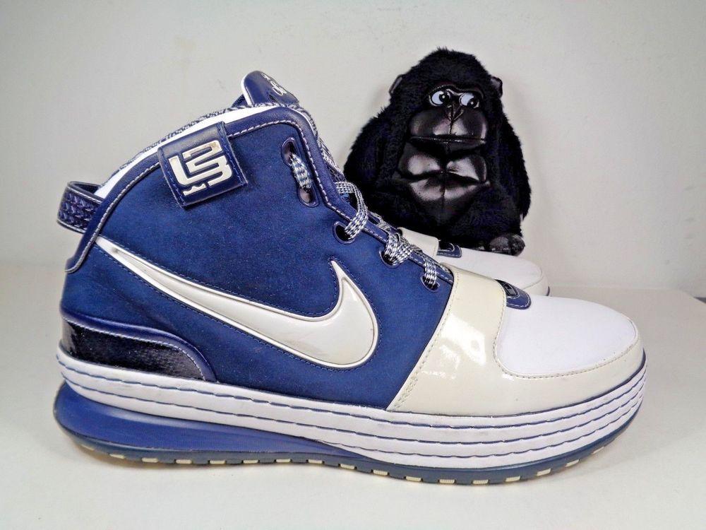 promo code 07d7a 4bbf8 Men Nike Lebron James VI New York Yankees Basketball shoes size 11 US  346526-111  Nike  BasketballShoes