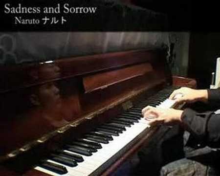 Naruto ナルト - Sadness and Sorrow Piano Solo