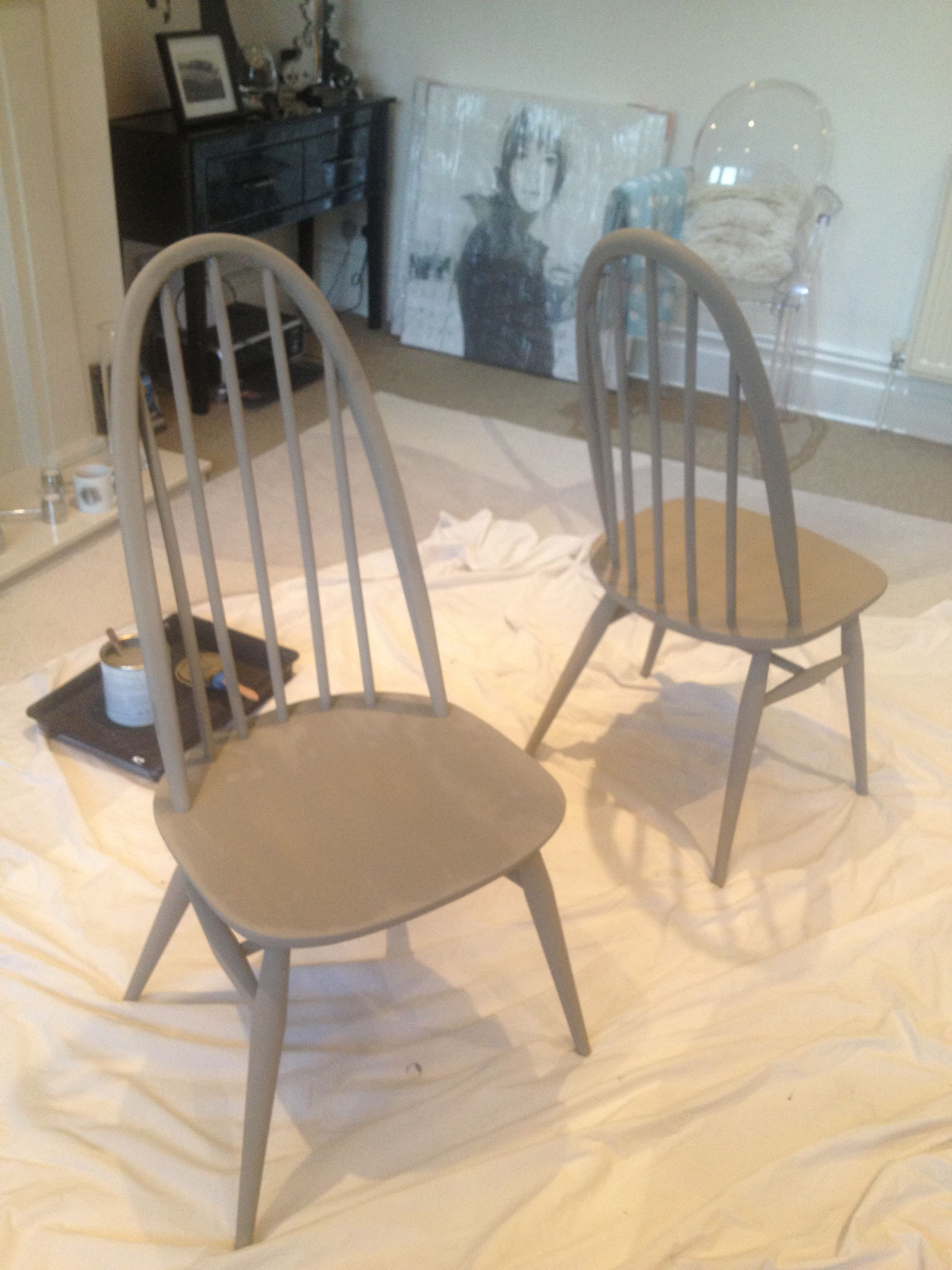 ercol chairs ive painted Ercol chair, Dining chairs, Chair