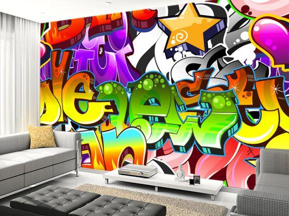 Graffiti Wall Art | wall creations | Pinterest | Graffiti wall art ...