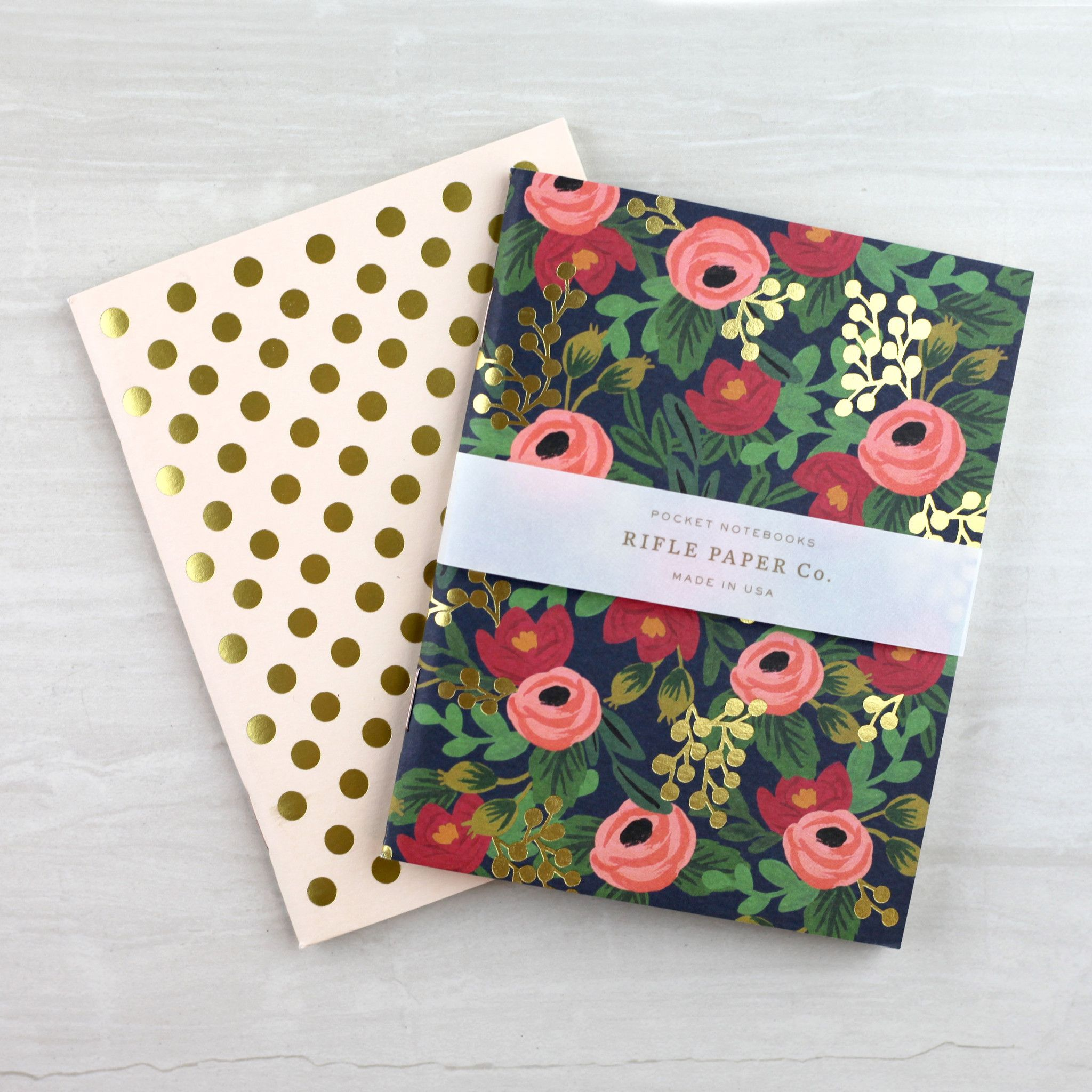Pocket Notebook Set - Rosa
