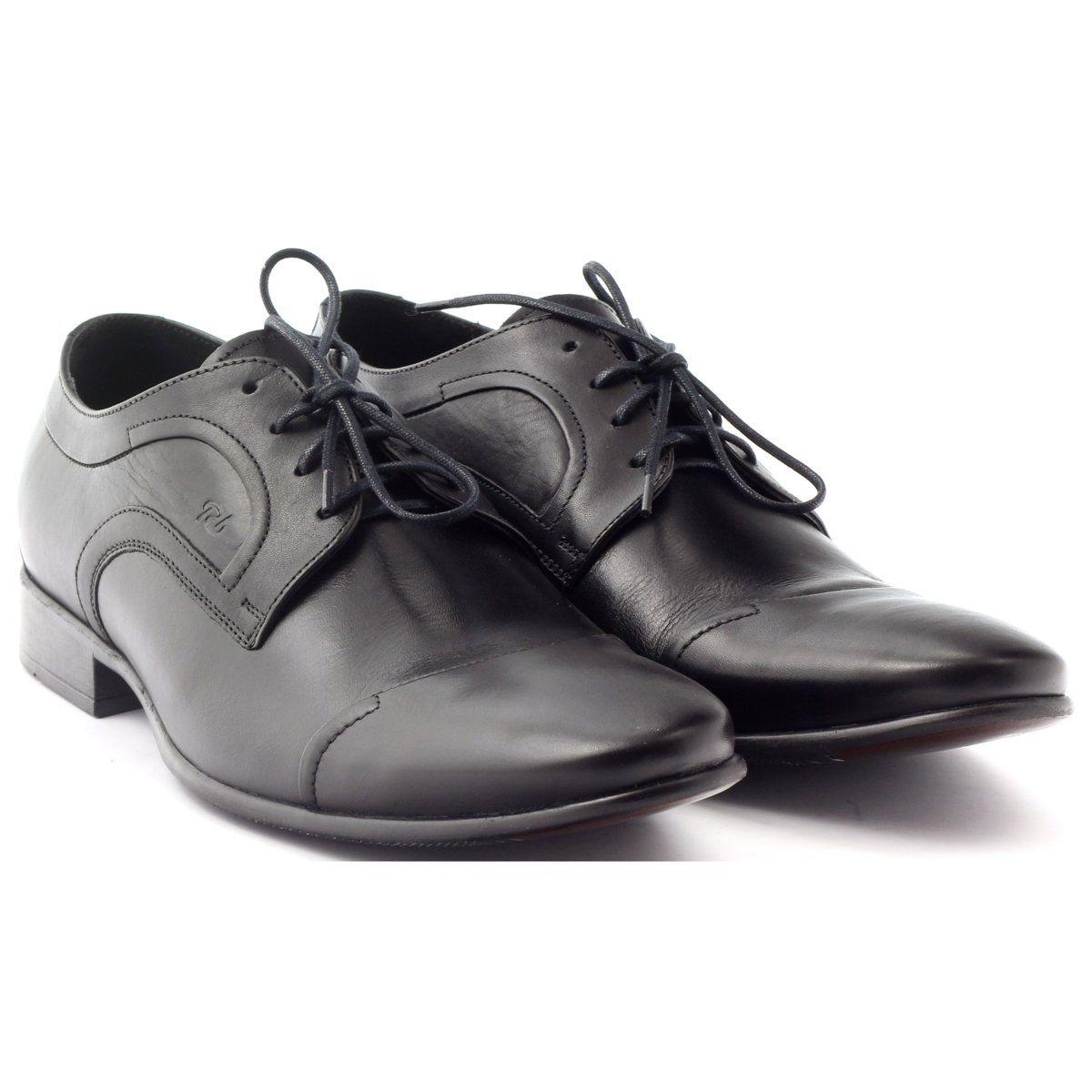 Polbuty Skorzane Buty Meskie Pilpol 1262 Czarne Womens Oxfords Oxford Shoes Shoes